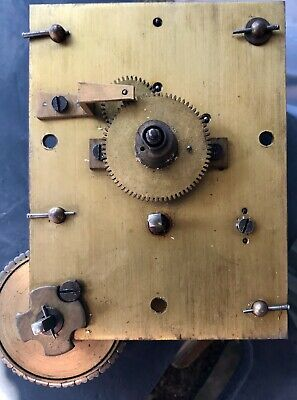 Chain Drive Fusee Clock Movement & Dial
