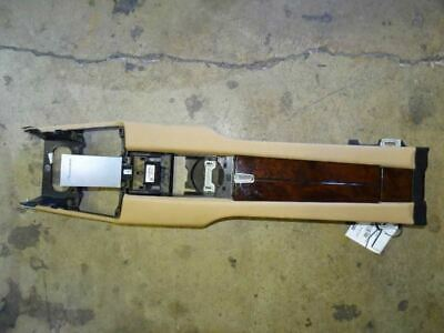12 Porsche Panamera 970 Rear Floor Center Console Storage Assy Wood Tan