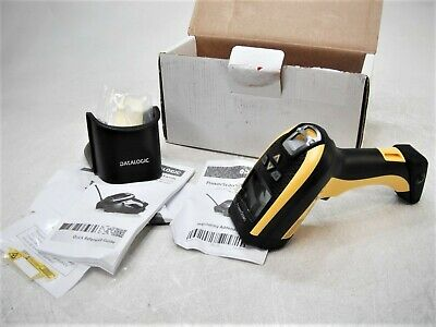 Datalogic PowerScan PM9500-DHP910RB Wireless Barcode Scanner Untested AS-IS