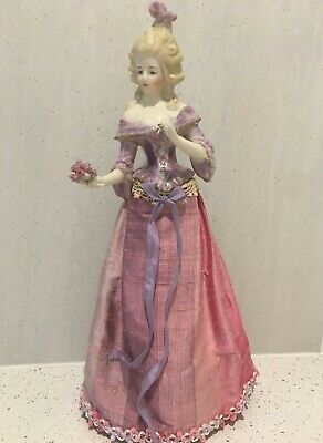 "Porcelain Figurine ""Allberta"" approx 11"" tall"