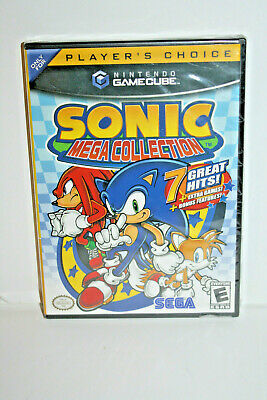 Sonic Mega Collection Nintendo GameCube 2002 BRAND NEW FACTORY SEALED Player's