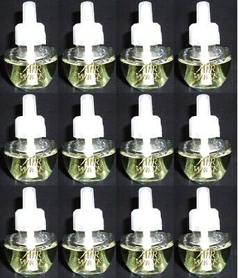 12 Air Wick Scented Oil Refills Turquoise Oasis With Essential Oils (No Box/Pkg)