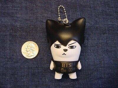 BTS Bangtan Boys - 2014 Hip Hop Monster Jin - Mini Figure KPop KeyChain - New