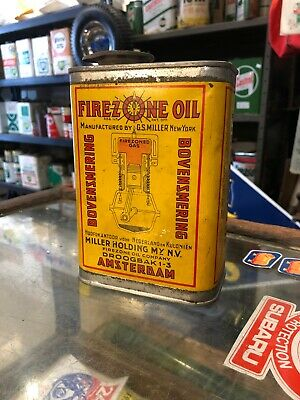 Firezone Vintage 1 Litre UCL Can Holland Origin