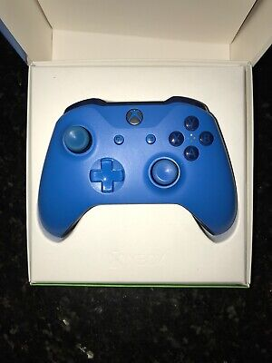 Microsoft Xbox One Bluetooth Wireless Controller, Blue, WL3-00018 Used Cond.