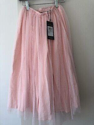 New Rock Your Baby Pink  TULLE OVERLAY SKIRT