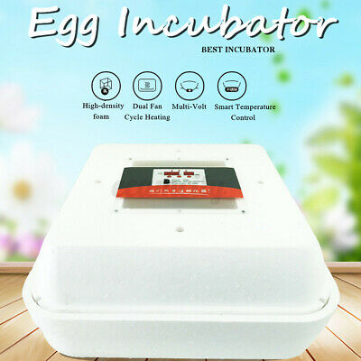 55 Egg Digital Incubator Hatcher Bird Chicken Duck Automatic turner Hatcher