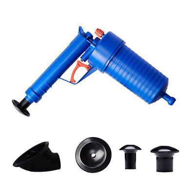 Toilet Clean Drain Pump Sink Pipe Clog Remover Powerful Drain Cleaning Tool