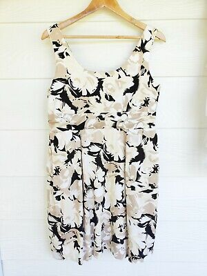 Laura Ashley size 12 floral sheath dress with pockets