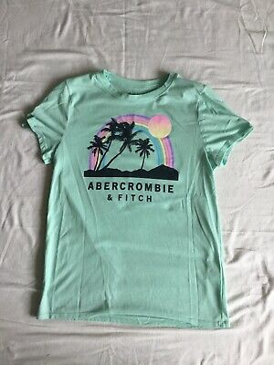 Abercrombie And Fitch Youths Short Sleeved T Shirt Aged 13 -14 Years