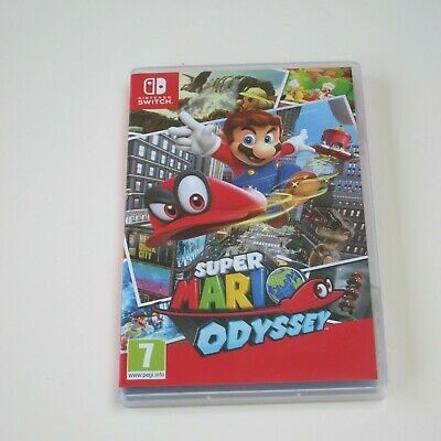 Super Mario Odyssey - NINTENDO SWITCH - Pre owned, excellent condition.