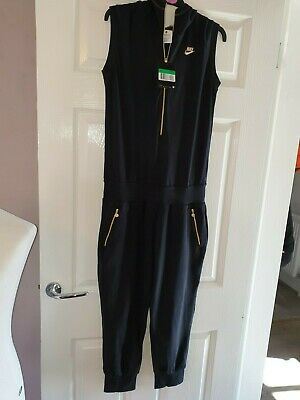 Bnwt Girls Designer Nike Air One Piece Jump Suit Uk 13 - 15 Years Rrp £120.00
