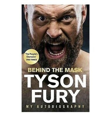 TYSON FURY Behind the Mask: My Autobiography (Digital Book PDF)