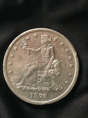 1878-S Trade Silver Dollar - $1 - No Reserve!
