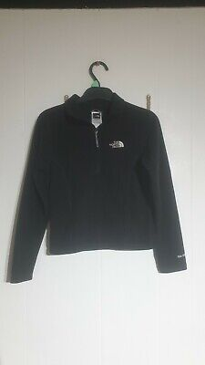 Girls The North Face 1/4 Zip Fleece Pullover In Size Small