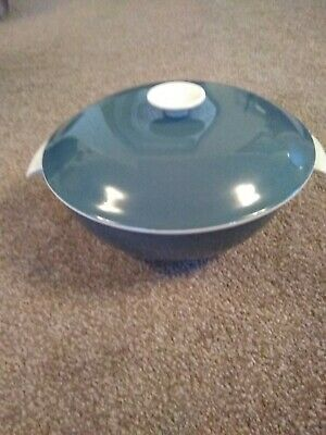 Poole Pottery Blue Moon Serving Dish With Lid