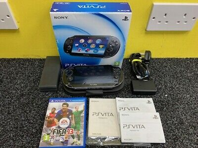 Sony PlayStation Vita PCH-1103 3G WIFI Handheld Console Boxed With Fifa 13 Game