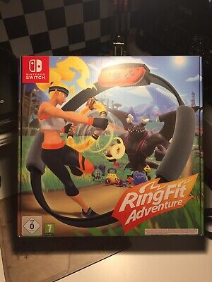 Ring Fit Adventure - Nintendo Switch - Great Condition