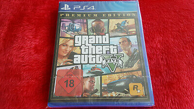 PS4 GTA V - Grand Theft Auto 5 - SEALED NEU