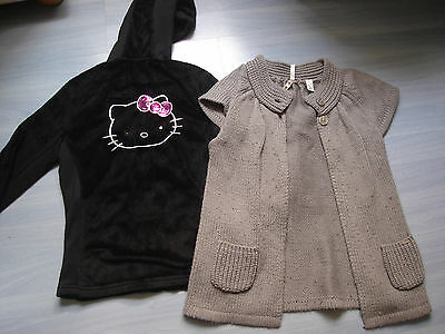 LOT VETEMENTS FILLE 11 12 ANS RENTREE SPORT GYM H&M HELLO KITTY kookai everlast