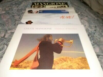 Chuck Mangione 33rpm Bundle Of 4 Vinyl Records