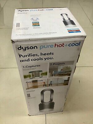 Dyson DY-31138301 HP01 Pure Hot and Cool Purifying Heater Fan - White/Silver
