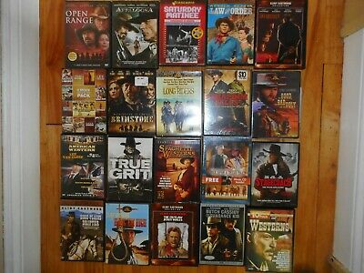 Lot of 15 WESTERN DVDs