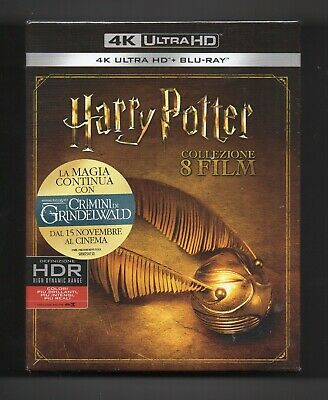Harry Potter Complete Collection 4K UHD + 2D - Blu-ray Box Set  - NEW/Sealed