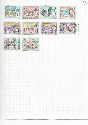 Old International stamp album with 2500 + stamps