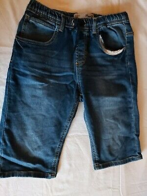 boys denim and co blue denim shorts age 12-13