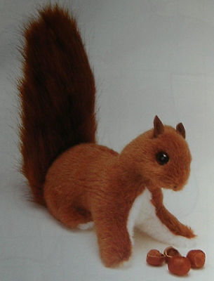 Sue Quinn's Cyril The Squirrel - Toy Sewing Pattern