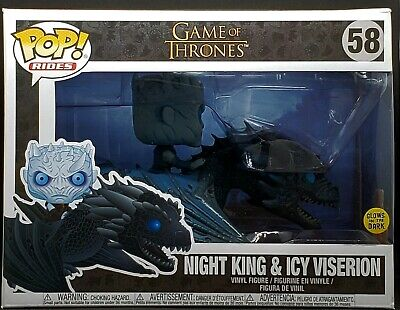Funko Pop Rides! Game of Thrones #58 - Night King and Icy Viserion