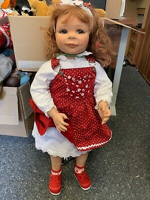 Gaby Jaques Artistic Doll Vinyl Doll 80 Cm. Top Condition