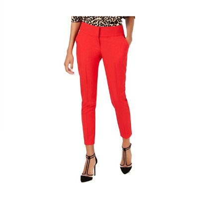 XOXO Womens Office Wear To Work Trouser Dress Pants Career Red Size 14