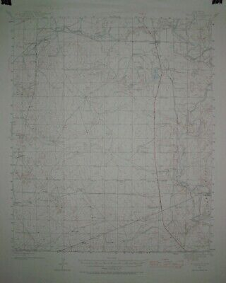 2 USGS Topographic Maps15 minute from southern New Mexico with railroads
