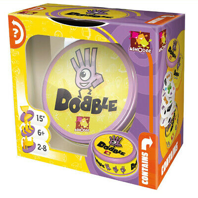 Dobble Classic Card Game -The Award-Winning Family Game, Spot It,Kids Party