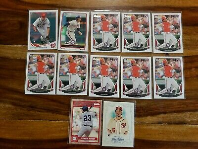 Anthony Rendon 2013 Topps Update Rookie Card Rc Lot 2012 1St Bowman Rc Lot (12)