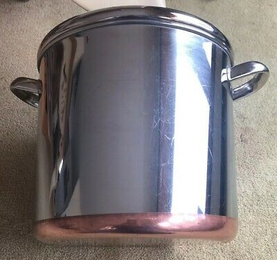 ✅ Revere Ware 12 Quart Stock Pot Commercial Stainless Steel Copper Clad Rome NY