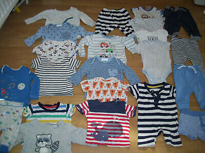 Baby boys large bundle of clothing.Age up to 3 months.Trousers, vests, tops.