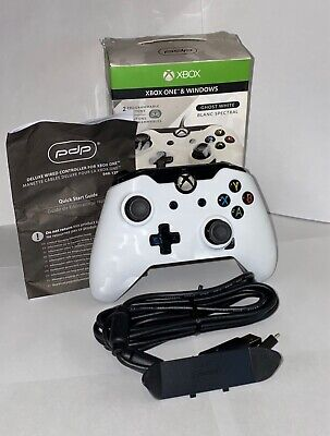 WIRED Xbox One Controller - PDP Ghost White - PRO EDITION (USED)
