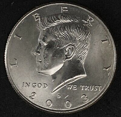 2003 D Kennedy Half Dollar Coin (1403)