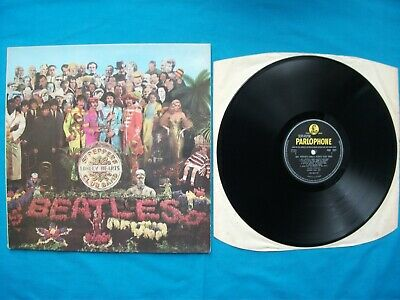 The Beatles. Sgt Pepper's Lonely Hearts Club Band Album.