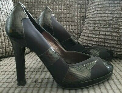 CHANEL High Heels Shoes Platforms Size 3