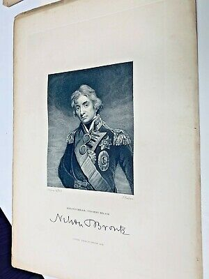13 x 19 Color Reproduction Print Vice Admiral Nelson Horatio Nelson