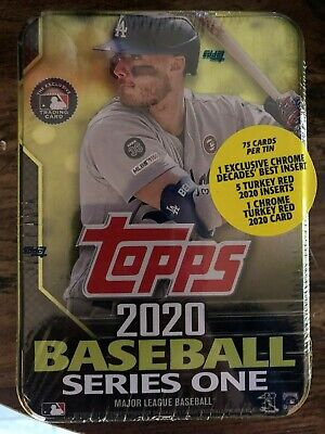2020 Topps - Series 1 Tin - Pick Your Player - Factory Sealed - 75 Cards per Tin
