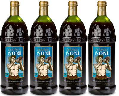 Original TAHITIAN NONI ® Juice By Morinda 4PK Case,1 L bottles Limited Time Sale