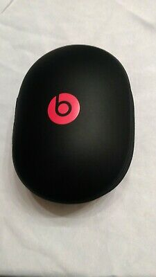Original Beats by Dr. Dre Headphones Carrying Travel Case Black Pre Owned