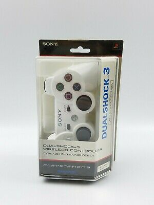 Genuine OEM White PS3 Playstation 3 Wireless Dualshock 3 SIXAXIS Controller