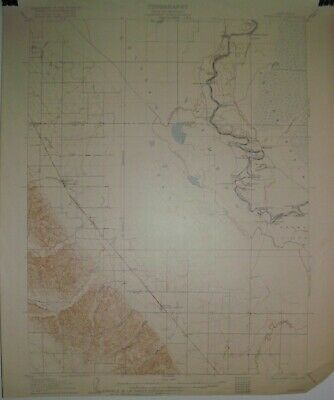 2 Army USGS Topographic Maps 15 minute from California with railroads