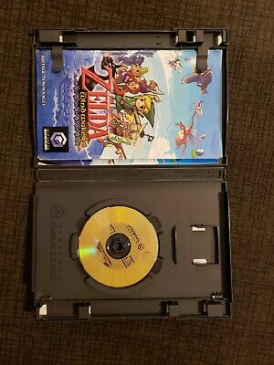 Legend of Zelda the Wind Waker - Gamecube  Authentic, Tested, Complete windwaker